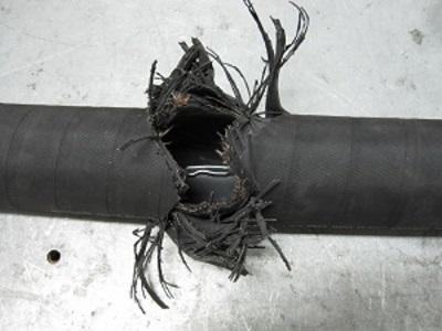 How to prevent hydraulic hose failure