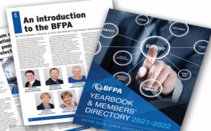 HOS feature in BFPA yearbook